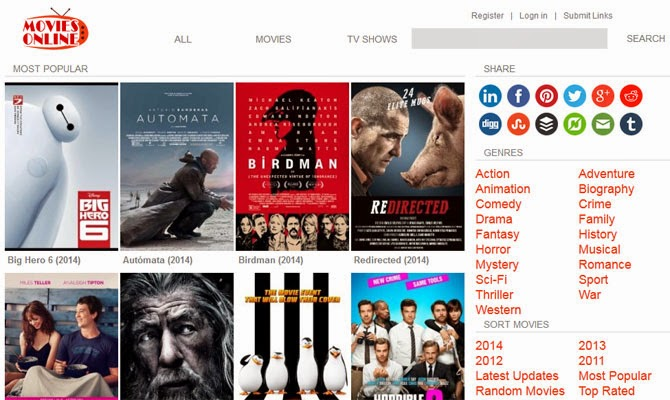All free movie sites